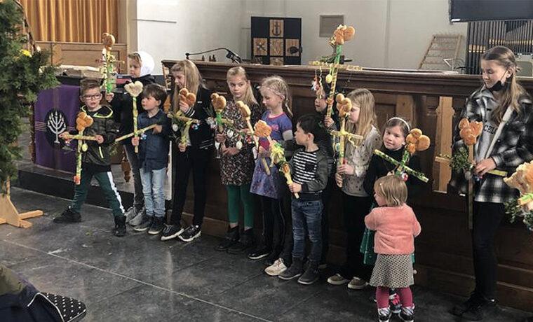 Palmpasen Kinderkerk